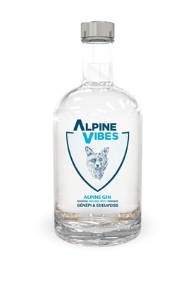 Alpine Vibes Bottles Alpine Gin 50 Cl