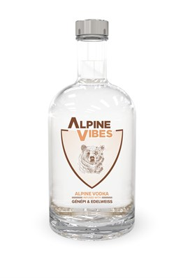 Alpine Vibes Bottles Alpine Vodka 50 Cl